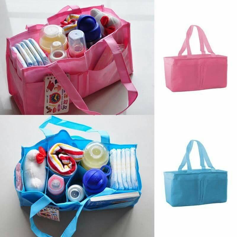 กระเป๋ามีช่องแบ่งใส่สัมภาระเด็กน้อย