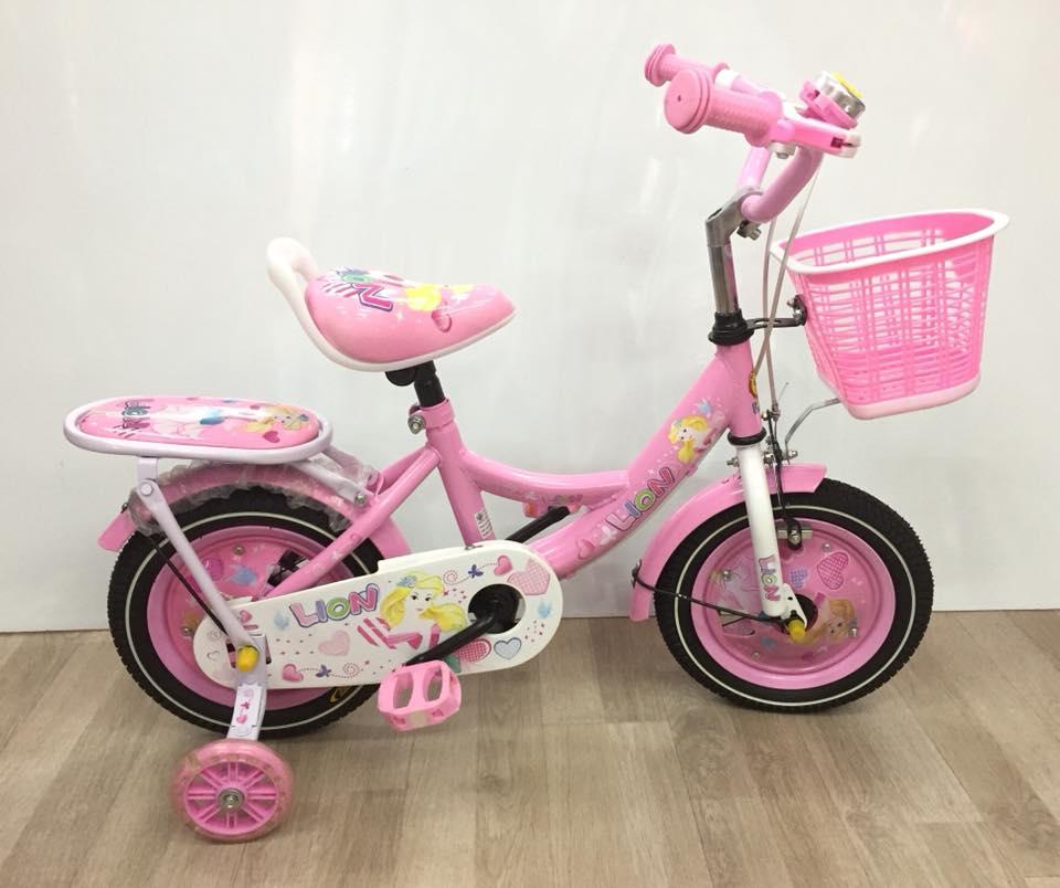 จักรยานเด็ก 12 นิ้ว ชมพูหวาน
