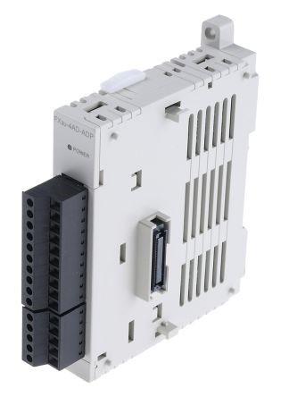 PLC FX3U-4AD ANALOG I/O MODULE