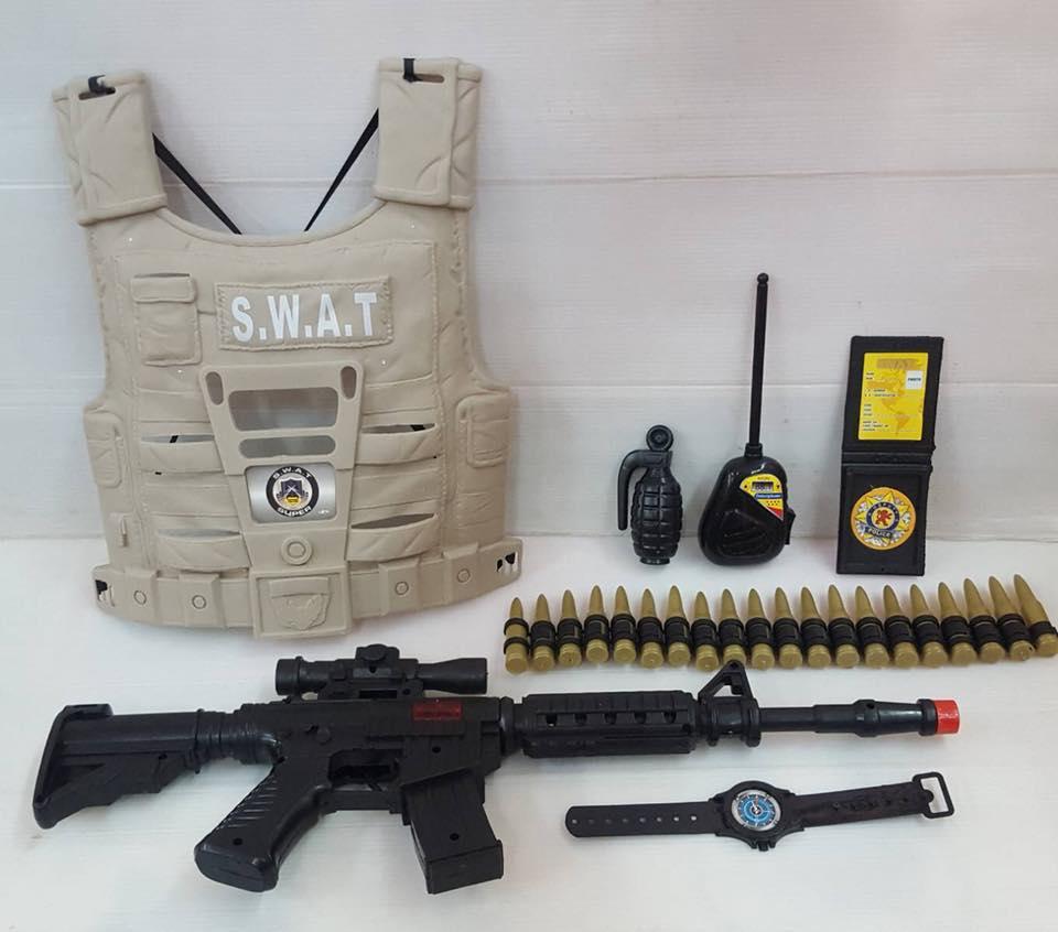 set ของเล่นหน่วย SWAT