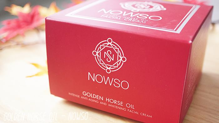 NOWSO Golden Horse Oil Facial Cream