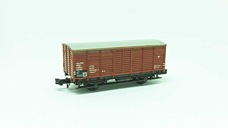 Trix DB Closed Wagon #T1 - N Scale (No Box)