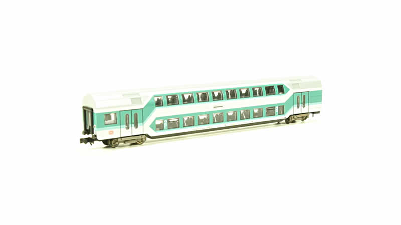 Trix DB Double Decker Coach - N Scale
