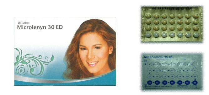Microlenyn ED (ไมโครเลนิน อีดี : 28 เม็ด)