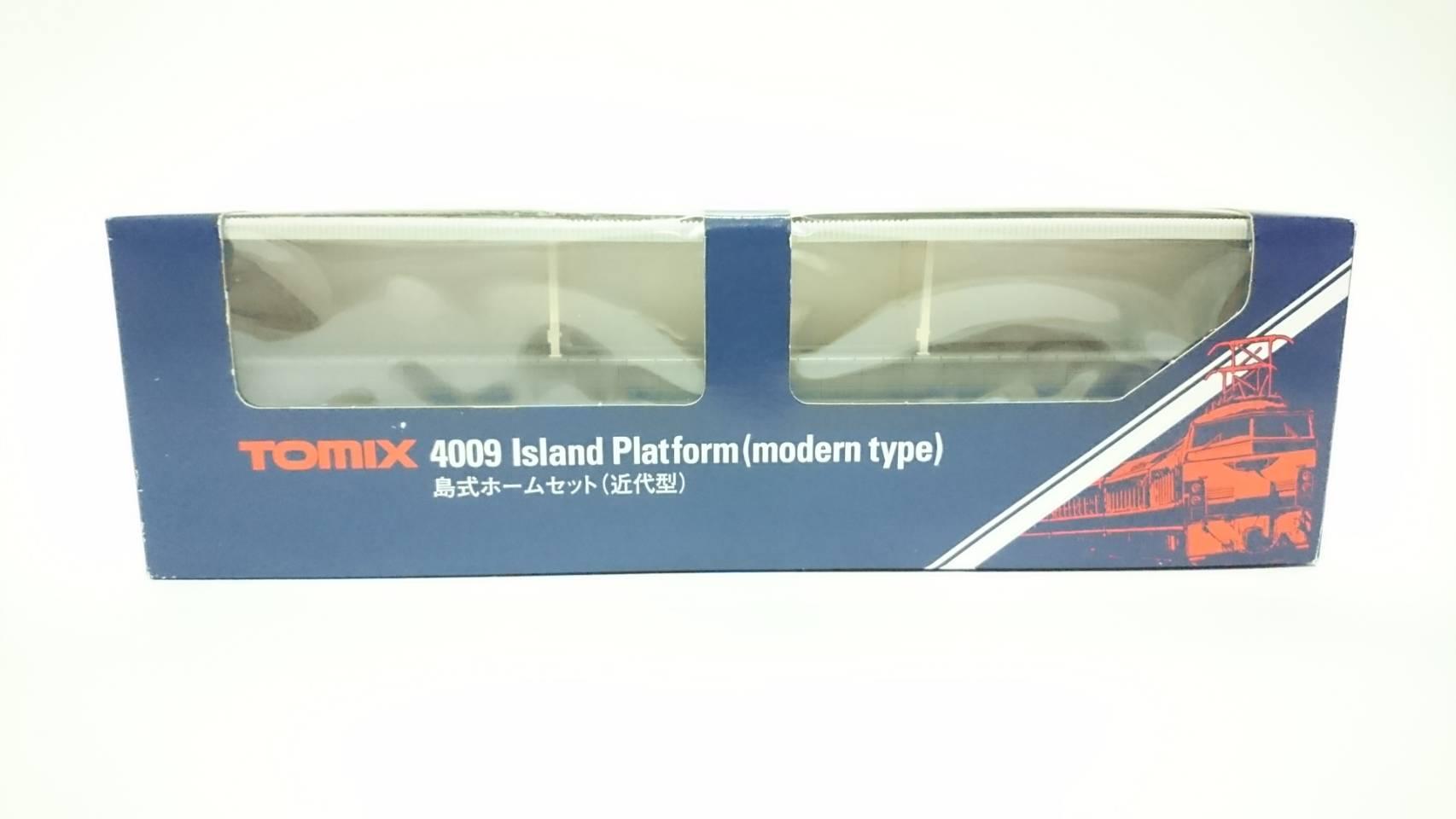 สถานีรถไฟ Tomix 4010 Platform island type recent model (ส่วนต่อขยาย) - N Scale