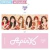 [พร้อมส่ง] สโลแกน Apink - 6th Mini Album Official Slogan 60X20cm.