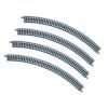 TOMIX #1851 Fine Track Curve Track 280mm C280-45 (F) (4 Pcs.) - N Scale