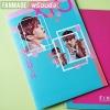 [พร้อมส่ง] แฟ้ม EXO Lucky One มีให้เลือก 9 ลาย (9 เมมเบอร์) แฟ้มA4 กระดาษการ์ดแข็งเคลือบ กันน้ำ