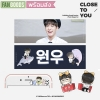 [พร้อมส่ง] สโลแกนเซท*หาร WONWOO ON TOP x MYWOONIVERSE by wooniverse_net (KOREA FANS)