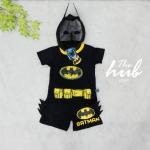 ชุดเด็ก set เสื้อกับกางเกง Batman
