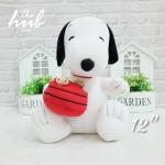 ตุ๊กตา Snoopy ถือถังคุ้กกี้