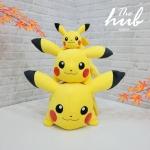 ตุ๊กตา Pikachu ท่าหมอบ