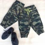 กางเกงเด็กลายทหาร