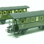 Marklin Coaches x2 Set - HO Scale