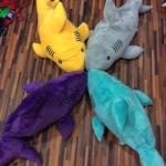 ตุ๊กตาฉลามหมอนผ้าห่ม