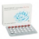 Rigevidon (ริเกวิดอน : 28 เม็ด)