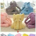 ตุ๊กตาช้างน่าร๊ากกกกก พร้อมผ้าห่ม