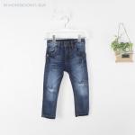 กางเกงยีนส์เท่ห์เซอร์ สำหรับเด็ก 1 ถึง 6 ปี