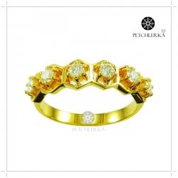 แหวนเพชรแท้ แหวนเพชรสวยๆ แหวนเพชรผู้หญิง(สามารถสั่งทำได้ค่ะ)