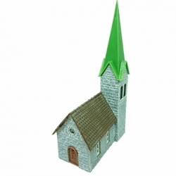 Faller Village Church - N Scale