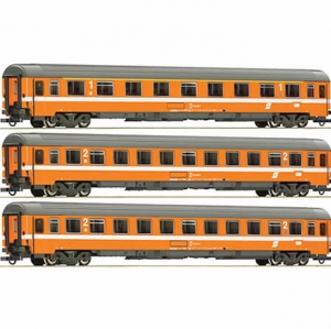 Arnold SBB Eurofirma x3 Coaches - N Scale with boxed