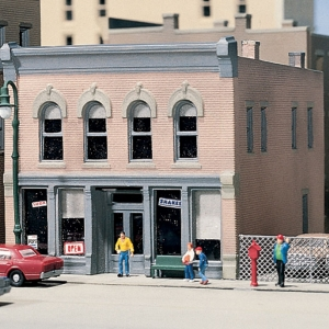 Woodland Scenics #50400 Char's Soda Shop - N Scale