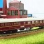 Trix MITROPA Speisewagen (Dining car) - N Scale thumbnail 1