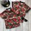 เสื้อคอจีนลายดอก สำหรับเด็ก thumbnail 2