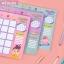[พร้อมส่ง] แผ่นจดบันทึกรายเดือน Monthly Planner Bentoy Bang Bang (มีให้เลือก 3 ลาย)