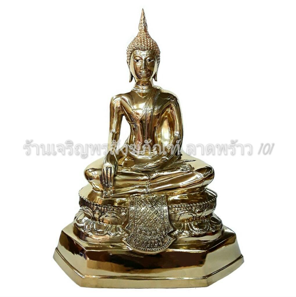 พระพุทธรูป ประธาน ปางมารวิชัย (สดุ้งมาร) มีขนาดหน้าตัก 1-109 นิ้ว