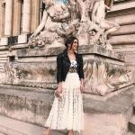 กระโปรงแฟชั่น Ruffle Maxi Skirt
