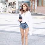เสื้อแฟชั่น Korea Sexy U Back Shirt