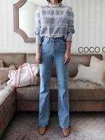 เสื้อแฟชั่น Cloudy Lace Line Blouse