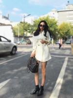 ชุดเดรสแฟชั่น Mininal Blazer Dress